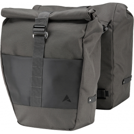 ALTURA GRID PANNIER ROLL UP PAIR 2020: CHARCOAL