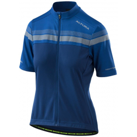 ALTURA WOMENS NIGHTVISION SHORT SLEEVE JERSEY 2018: NIGHT BLUE/ROYAL BLUE 16