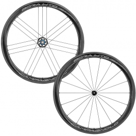 CAMPAGNOLO BORA WTO 45 2-WAY FIT RIM BRAKE WHEELSET:CAMPAGNOLO QR
