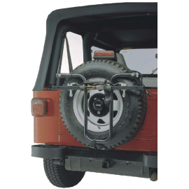 HOLLYWOOD F7 SPARE TYRE MOUNT 2 BIKE CAR RACK: