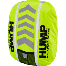 Deluxe HUMP waterproof rucsac cover  safety yellow