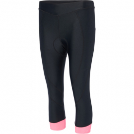 Keirin women's 3/4 shorts  black / pink glo size 8