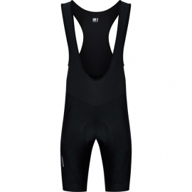 Sportive men's bib shorts  black XX-large
