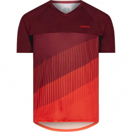 Zenith men's short sleeve jersey  blood red / chilli red X-large