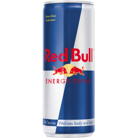 RED BULL ENERGY SINGLE CAN(24 PACK):  250ML