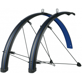 BLUEMELS STINGRAY 28 MUDGUARD SET: MATT BLACK/OCEAN BLUE 45MM
